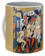 Nudes In Studio Coffee Mug