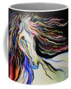 Nuella Horse With The White Shoulder Coffee Mug