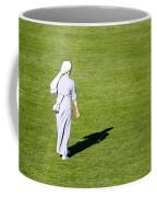 Nun On Green Soccer Field Coffee Mug by Brch Photography