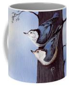 Nuthatch Pair Coffee Mug