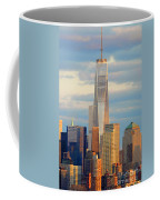 Ny Sundown One World Trade  Coffee Mug