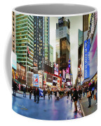 Ny Times Square Impressions I Coffee Mug