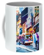 Ny Times Square Impressions Iv Coffee Mug