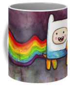 Nyan Time Coffee Mug by Olga Shvartsur