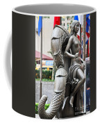 Nyc - Manhattan - Rockefeller Center - First Human Maiden Made F Coffee Mug