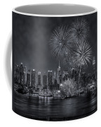 Nyc Celebrate Fleet Week Bw Coffee Mug