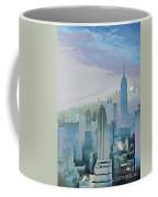 Nyc Morning Blues Coffee Mug