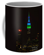 Nyc Salutes Seattle Seahawks Coffee Mug