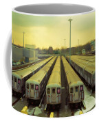 Nyc Subway Cars Coffee Mug