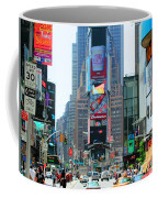 New York City Times Square Coffee Mug