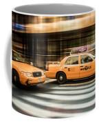 Nyc Yellow Cabs Coffee Mug