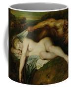 Nymph And Satyr Coffee Mug