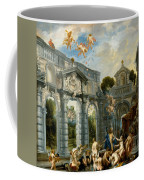 Nymphs At The Fountain Of Love Coffee Mug
