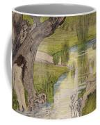 Nymphs Bathing Coffee Mug