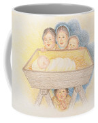 O Come Little Children - Christmas Card Coffee Mug