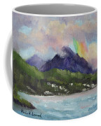 Oahu North Shore Rainbow Coffee Mug