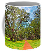 Oak Alley 3 Oil Coffee Mug