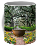Oak Alley Landscape In Vacherie Louisiana Coffee Mug