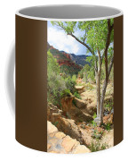 Over Slide Rock Coffee Mug