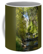 Oak Creek Canyon Creek Arizona Coffee Mug