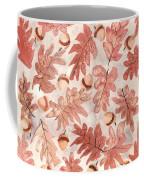 Oak Leaves And Acorns Coffee Mug