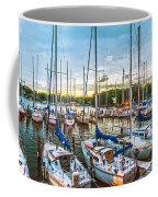 Oak Pt Harbor At Sundown Coffee Mug