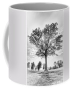 Oak Tree Bw Coffee Mug