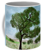 Oak Tree Landscape Coffee Mug