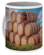 Oak Wine Barrels Coffee Mug