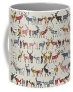 Oatmeal Spice Deer Coffee Mug