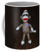 Obama Sock Monkey Coffee Mug