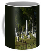 Obelisk And Headstones Coffee Mug