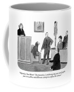 Objection, Your Honor!  The Prosecution Coffee Mug
