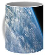 Oblique Shot Of Earth Coffee Mug by Adam Romanowicz