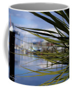 Obscured View Of Percival Landing Coffee Mug
