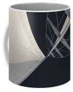 Obsession Sails 8 Black And White Coffee Mug