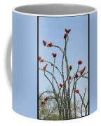 Ocatillo With Red Blossoms Coffee Mug