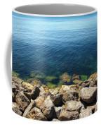 Ocean And Rocks Coffee Mug