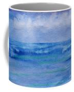 Gentle Ocean Waves -  Original Watercolor Coffee Mug