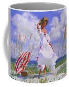 Ocean Breeze Blues Coffee Mug