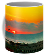 Ocean City Sunrise Over Music Pier Coffee Mug