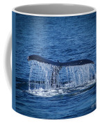 Ocean Dive Of The Humpback Whale Coffee Mug