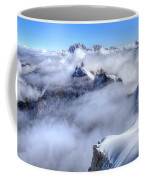 Ocean Of Clouds Coffee Mug