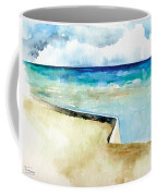 Ocean Pier In Key West Florida Coffee Mug