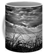Ocean Rays Black And White Coffee Mug