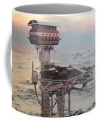 Ocean Refueling Platform Coffee Mug