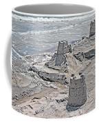 Ocean Sandcastles Coffee Mug by Betsy Knapp