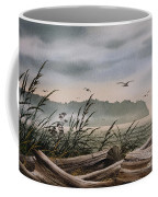 Ocean Shore Coffee Mug by James Williamson