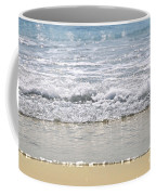 Ocean Shore With Sparkling Waves Coffee Mug