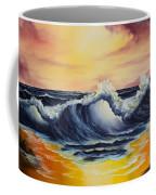 Ocean Sunset Coffee Mug by C Steele